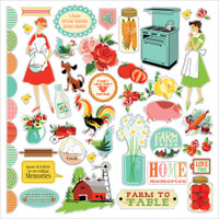 Carta Bella - Collection Kit 12x12 - Country Kitchen CK76016