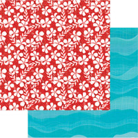 Photoplay - Aloha - 12 sheets Double sided 12x12 Paper