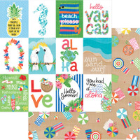 Photoplay - Aloha - 6 sheets Double sided 12x12 Paper (PPAL 6SHTS)
