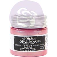 Prima Finnabair Art Alchemy Opal Magic Acrylic Paint - Coral Teal (AAOM 66072)