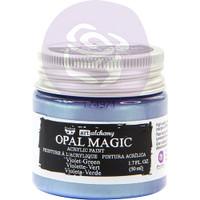 Prima Finnabair Art Alchemy Opal Magic Acrylic Paint - Violet Green (AAOM 66133)