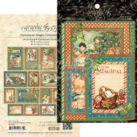 Graphic 45 - Christmas Magic - Ephemera Cards G4501739