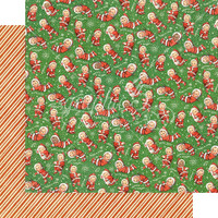 Graphic 45 - Christmas Magic -  Santa's Little Helpers- Double-Sided Paper - 12x12
