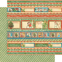 Graphic 45 - Christmas Magic -  Gifting Gala   -  Double-Sided Paper - 12x12