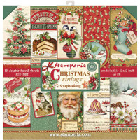 Stamperia - 12 x 12 Collection Pack - Christmas Vintage SBBL45