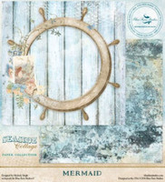 Blue Fern Studio - Seaside Cottage 12x12 dbl sided paper - Mermaid