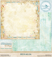 Blue Fern Studio - Seaside Cottage 12x12 dbl sided paper - Regalia (129476)