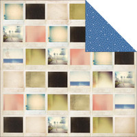 "Kaisercraft - Double-Sided scrapbooking paper 12""X12"" - Miss Match - Treasure P875"