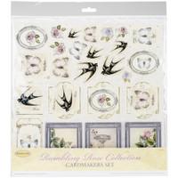 "Ultimate Crafts - Cardmaker's Paper Pack 12""X12"" 14/Pkg - Rambling Rose UL157750"
