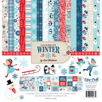 Echo Park - Double Sided Cardstock Collection Pack 12x12 - Celebrate Winter CW162016