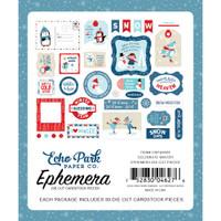 Echo Park - Ephemera Cardstock Die-Cuts 33/Pkg - Icons - Celebrate Winter CW162024