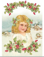 "Stamperia - Victorian Girl - Decoupage Rice Paper 8.5""X11.75"" DFSA4144"