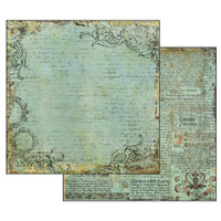 Stamperia - Double sided 12x12 Paper - Alchemy Manuscript SBB527