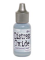 Tim Holtz Ranger - Full Set Distress Oxide Reinkers Release #5 - 12 colors - Weathered Wood