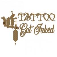 Creative Embellishments - Chipboard - Tattoo Set
