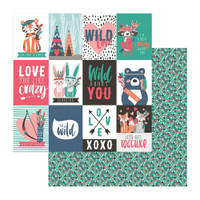 """Photo Play Colorplay - Collection Paper Pack 12""""X12"""" - Wild Love (WL9166)"""