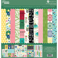 "Jillibean Soup - 12""x12"" Double-Sided Cardstock Paper Collection - MISO Happy"