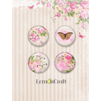 LemonCraft - Sweet Secrets - Flair Embellishments self-adhesive decorative buttons LD-SWSE01