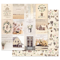 Prima - 12x12 Double-Sided Cardstock - Spring Farmhouse - Simple Things 994792