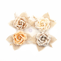 Prima - Pretty Pale - Flowers - Sand Dunes 637545