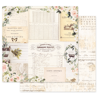 Prima - 12x12 Double-Sided Cardstock - Spring Farmhouse - Gather 994846