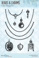 Blue Fern Studios - Clear Stamp - Beads and Charms (104473)
