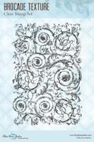 Blue Fern Studios - Clear Stamp - Brocade Textures (104374)