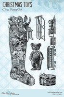 Blue Fern Studios - Clear Stamp - Christmas Toys (103773)