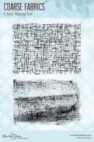 Blue Fern Studios - Clear Stamp - Coarse Fabrics (126673)