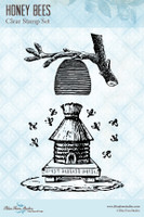 Blue Fern Studios - Clear Stamp - Honey Bees (834684)