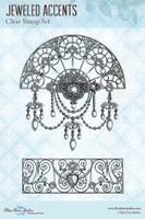 Blue Fern Studios - Clear Stamp - Jeweled Accents (144974)