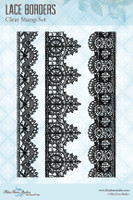 Blue Fern Studios - Clear Stamp - Lace Borders (127175)
