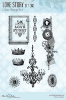 Blue Fern Studios - Clear Stamp - Love Story 1 (235565)