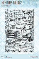 Blue Fern Studios - Clear Stamp - Memories Collage (141270)