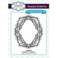 Creative Expressions - Sue Wilson - Stamps to Die For - Avery's Pearls (UMS853)