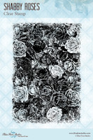 Blue Fern Studios - Clear Stamp - Shabby Roses (126772)
