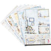 Ciao Bella - Double-Sided Creative Pad A4 8/Pkg - Sound Of Summer