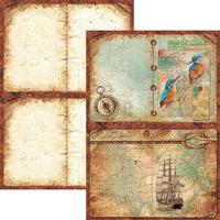 Ciao Bella - Double-Sided Creative Pad A4 9/Pkg - Repubbliche Marinare (CBCL013)