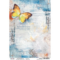 Ciao Bella - Sound of Spring Collection - Dancing Butterfly - Decoupage Rice Paper Sheet  (CBRP015)