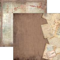 Ciao Bella - 12x12 Double-Sided paper - Ciao Bella Collection - Travel Memories (CBCB12 002 )