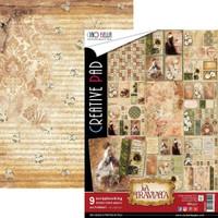Ciao Bella - A4 Double-Sided Scrapbook Paper Collection - La Traviata (CBCL012)