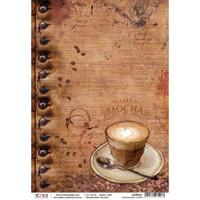 Ciao Bella - Buongiorno Italiano Collection - Buongiorno Caffe - Decoupage Rice Paper Sheet (CBR007)