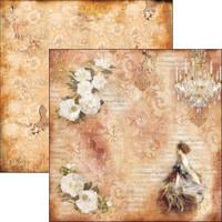Ciao Bella - 12x12 Double-Sided Cardstock - La Traviata - Violetta Valery ( CBLT12 044 )