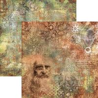 """Ciao Bella - 12""""X12"""" Double-Sided Paper Collection - Codex Leonardo (CBPM010)"""