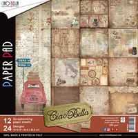 """Ciao Bella - 12""""X12"""" Double-Sided Paper Pack - Ciao Bella Collection (CBPM001)"""
