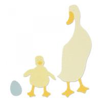 Sizzix Bigz Die - Duck & Duckling (663306)