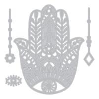 Sizzix - Sophie Guilar - Thinlits Die 4PK - Hand Charm (663367)