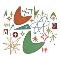 Sizzix - Tim Holtz - Thinlits Die Set 25PK - Atomic Elements (664152)