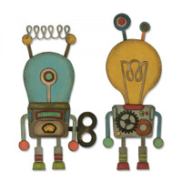 Sizzix - Tim Holtz - Thinlits Die Set 14PK - Robotic (664162)