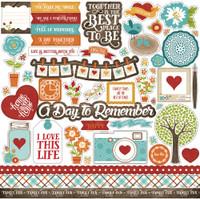 "Echo Park - Element Sticker 12""x12""- I Love Family (ILF113014)"